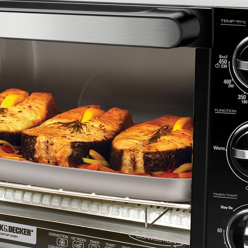 Black and Decker - Countertop Toaster Oven - TO1216B