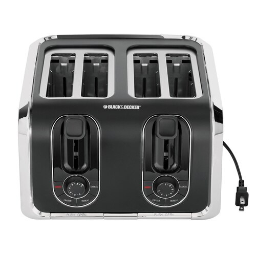 Black and Decker - 4Slice Toaster - TR1400SB