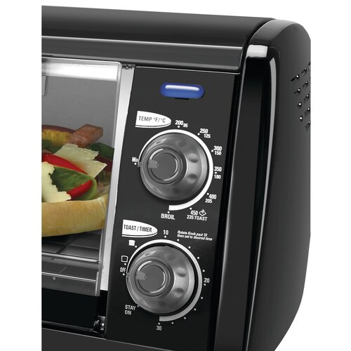 Black and Decker - 4Slice Toaster Oven - TRO420