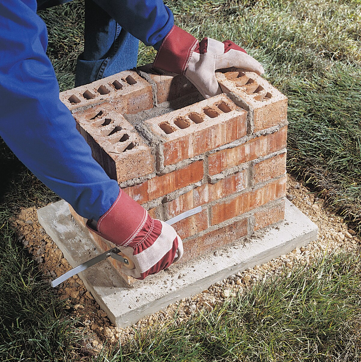 Build A Brick Pillar