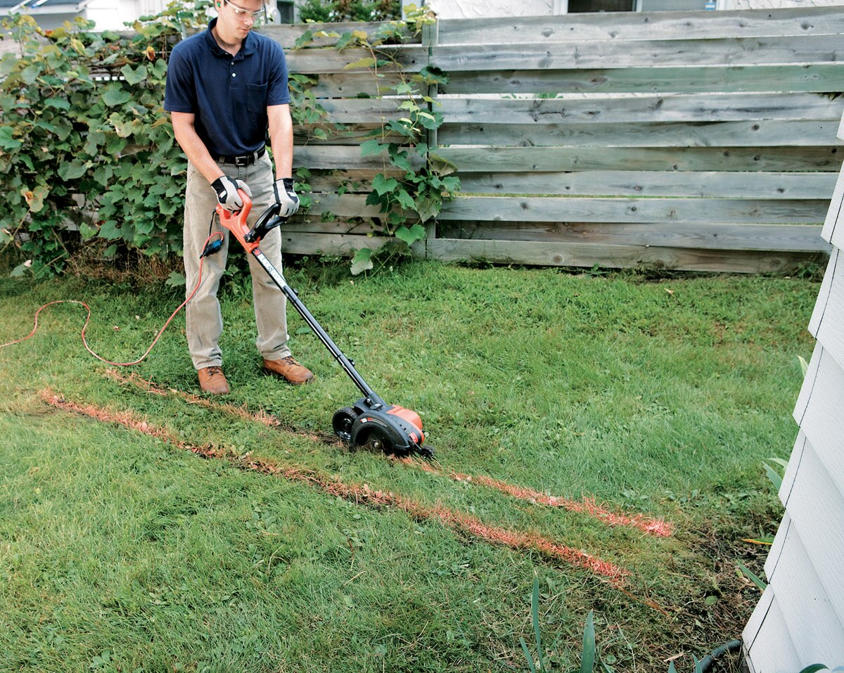 Installing A French Drain Black Decker