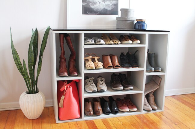 Diy Shoe Storage Unit Black Decker